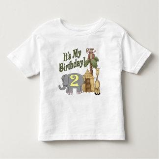2nd Birthday Safari Shirt