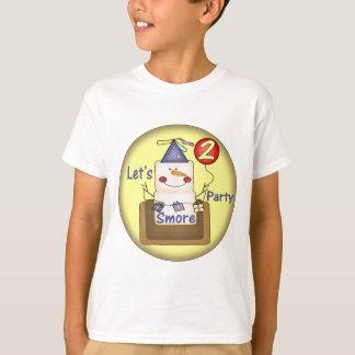 2nd Birthday Smores T-Shirt