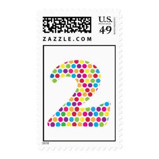 2nd Birthday Stamp