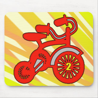 2nd Birthday Trike Mouse Pad