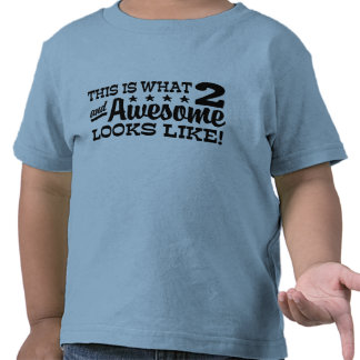 2nd Birthday T-shirt