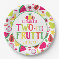 2nd Birthday Two-tti Frutti Fruit Birthday Party Paper Plate