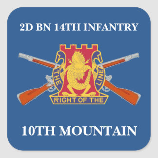 2ND BN 14TH INFANTRY 10TH MOUNTAIN STICKERS