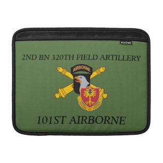 2ND BN 320TH FIELD ARTILLERY 101ST MACBOOK SLEEVE