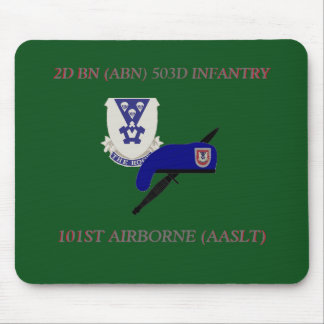 2ND BN 503D INFANTRY 101ST AIRBORNE MOUSEPAD
