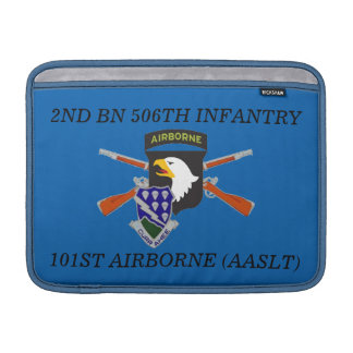 2ND BN 506TH INFANTRY 101ST ABN MACBOOK SLEEVE