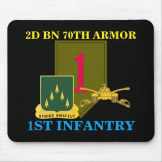 2ND BN 70TH ARMOR 1ST INFANTRY MOUSEPAD