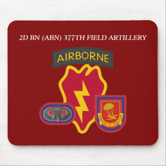 2ND BN (ABN) 377TH FIELD ARTILLERY MOUSEPAD