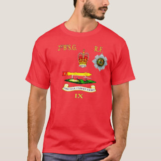 2nd bn Scots Guards Right Flank T-Shirt