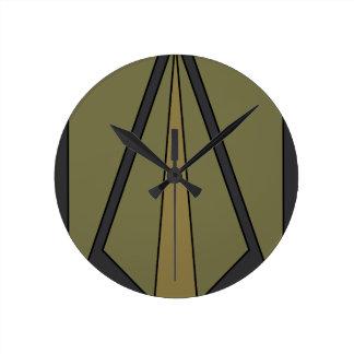 2nd Brigade 1st Infantry  Division Round Clock
