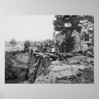 2nd Bull Run Bridge 1862 Print