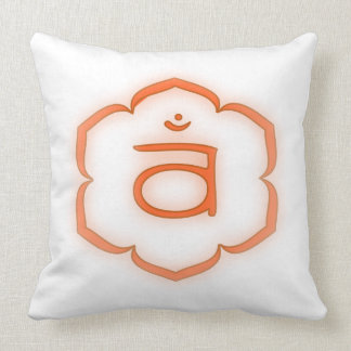 2nd Chakra - Svadhisthana Throw Pillow