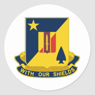 2nd Combined Arms Battalion, 5th Brigade Combat Te Round Stickers
