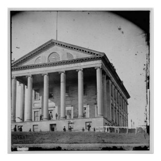 2nd Confederate Capitol Richmond Virginia (1865) Poster