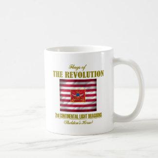 2nd Continental Light Dragoons Classic White Coffee Mug
