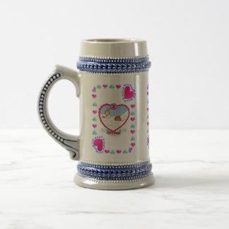 2nd Cotton Anniversary Wedding Anniversary Mugs