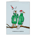 2nd Day of Christmas (Two Turtle Doves) Card