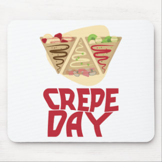 2nd February - Crepe Day - Appreciation Day Mouse Pad