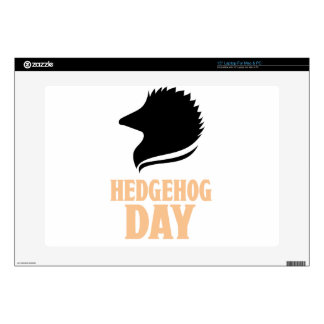 2nd February - Hedgehog Day Skin For Laptop