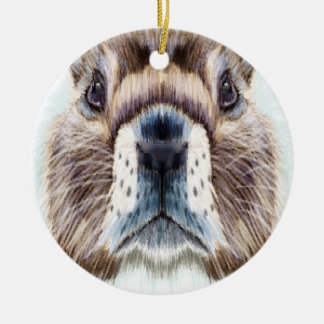 2nd February - Marmot Day - Appreciation Day Ceramic Ornament