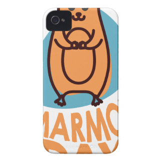 2nd February - Marmot Day - Appreciation Day iPhone 4 Case-Mate Case