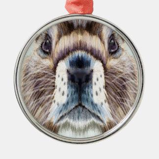 2nd February - Marmot Day - Appreciation Day Metal Ornament