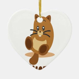 2nd February - Marmot Day Ceramic Ornament