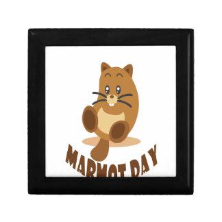 2nd February - Marmot Day Keepsake Box