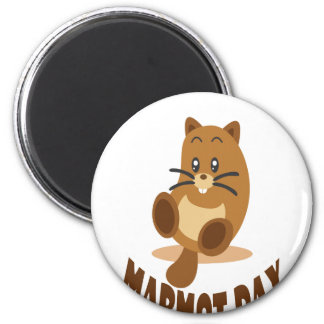 2nd February - Marmot Day Magnet