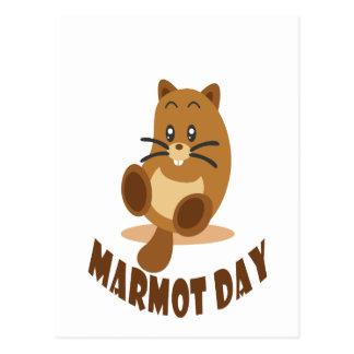2nd February - Marmot Day Postcard