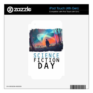 2nd February - Science Fiction Day iPod Touch 4G Skin