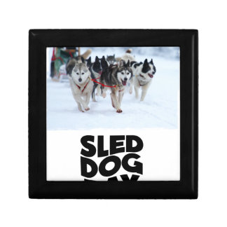 2nd February - Sled Dog Day Jewelry Box