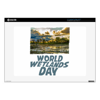 2nd February - World Wetlands Day Laptop Decal