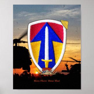 2nd Field Force Vietnam Nam War Patch Poster