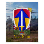 2nd Field Force Vietnam Nam War Patch Print