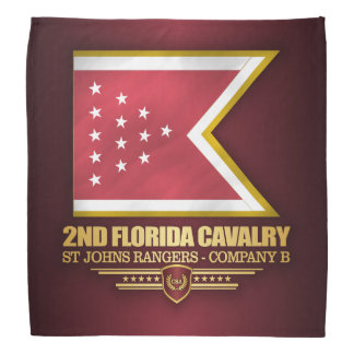 2nd Florida Cavalry Bandana