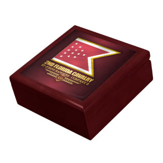2nd Florida Cavalry Jewelry Box