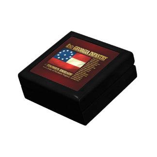 2nd Georgia Infantry (BA2) Jewelry Box