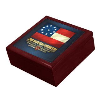 2nd Georgia Infantry Jewelry Box