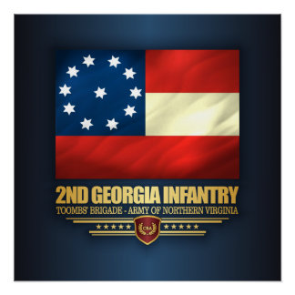 2nd Georgia Infantry Poster