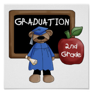 2nd Grade Graduation Poster