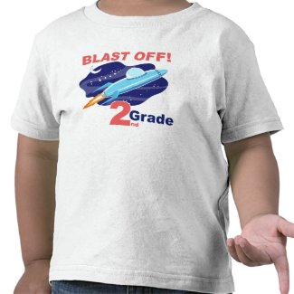 2nd Grade Outer Space Tees
