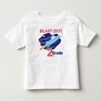 2nd Grade Outer Space Toddler T-shirt