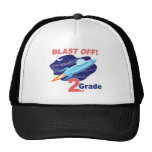 2nd Grade Outer Space Trucker Hat