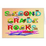 2nd Grade Rocks Cards