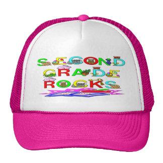 2nd Grade Rocks Trucker Hat