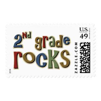 2nd Grade Rocks Second Stamp