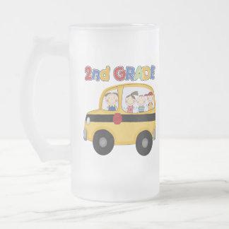 2nd Grade School Bus Mugs