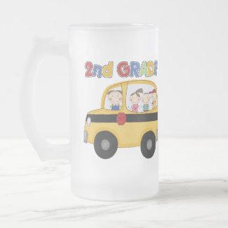 2nd Grade School Bus Coffee Mug