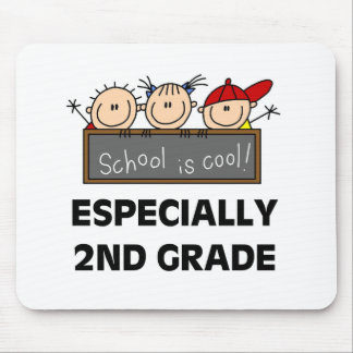 2nd Grade School is Cool Mouse Pads
